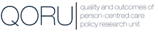 Quality and Outcomes of Person-centred Care Policy Research Unit - QORU